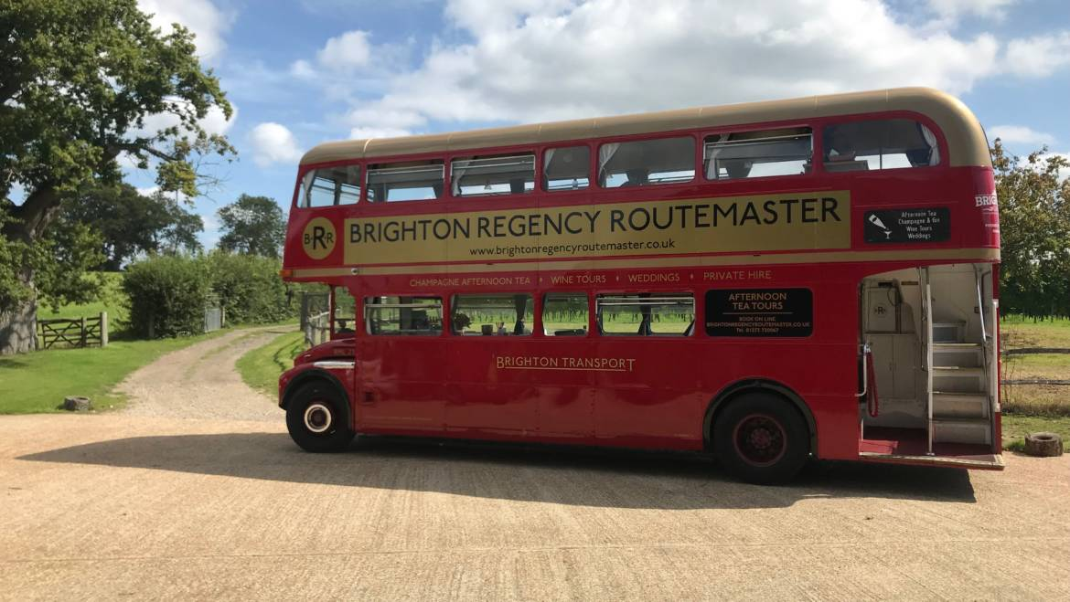 Vintage Bus Tour from Brighton